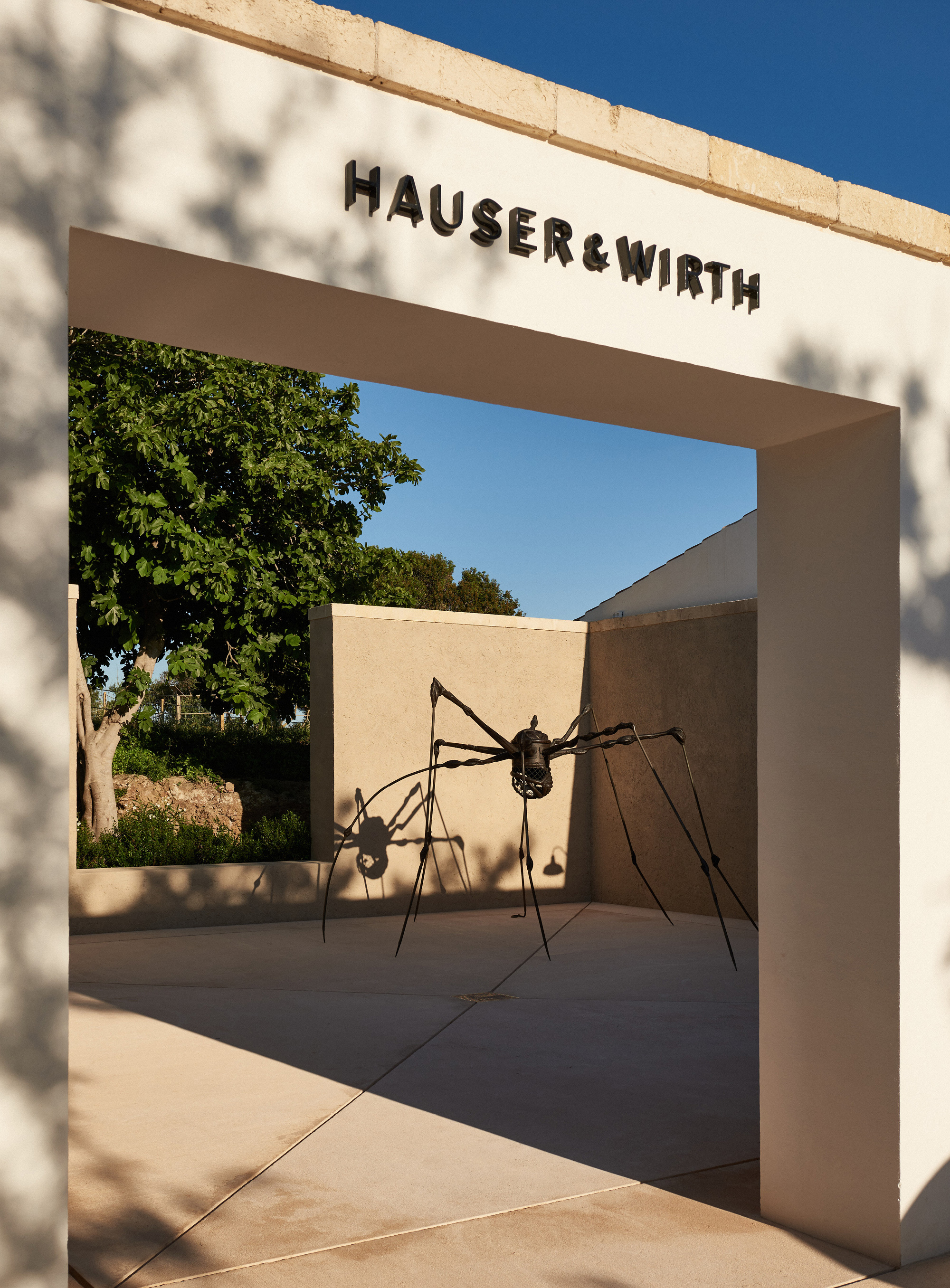 'Spider' (1994) by Louise Bourgeois on Hauser & Wirth Menorca The Easton Foundation / DACS Courtesy The Easton Foundation and Hauser & Wirth © Daniel Schäfer